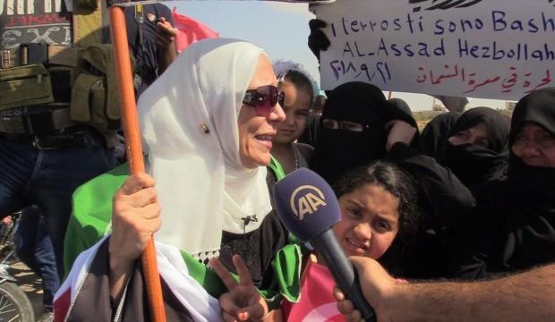 'Türkler sesimizi duysun, lütfen Erdoğan!'