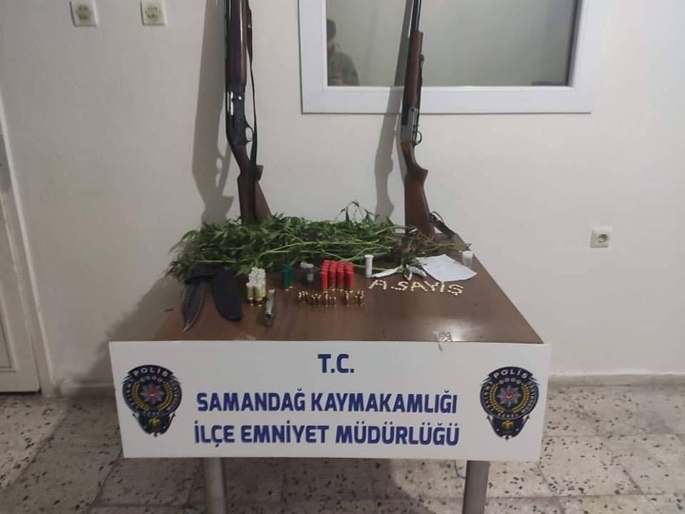 Samandağ'da uyuşturucu operasyonu : 1 gözaltı