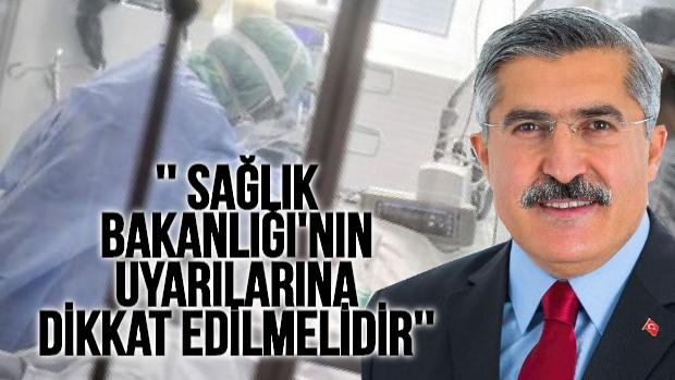 "MİLLETVEKİLİ YAYMAN ""KORONA'NIN ŞAKASI YOK! """