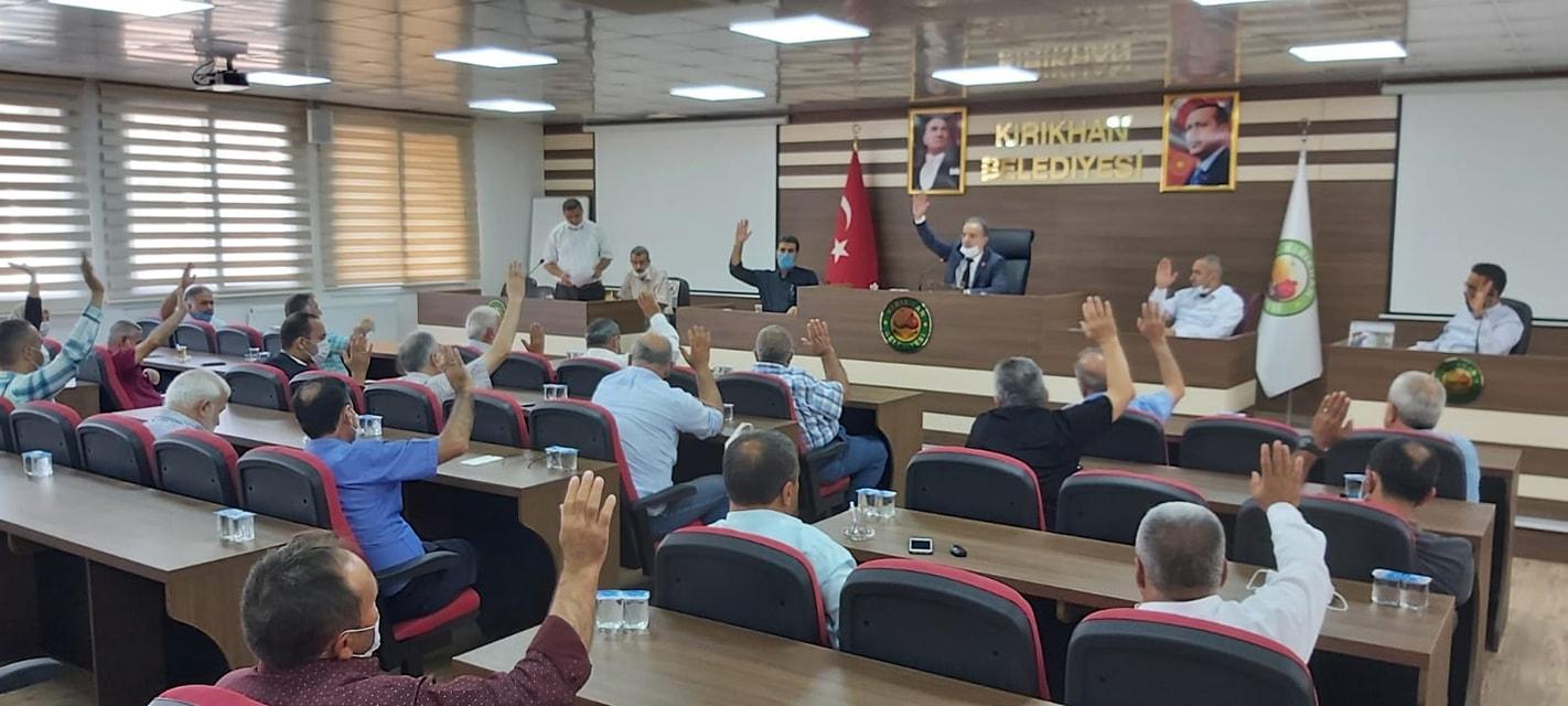 KIRIKHAN BELEDİYESİ MECLİS TOPLANTISININ 2.OTURUMUNU YAPTI