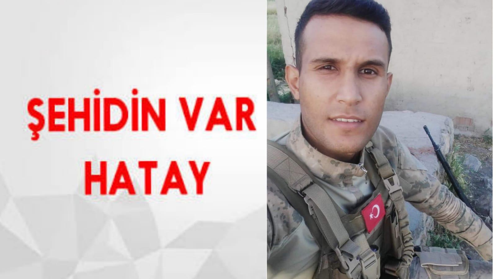 ŞEHİDİN VAR HATAY !!!