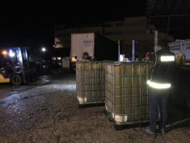 Arnavutköy de 10 Numara Yağ Operasyonu
