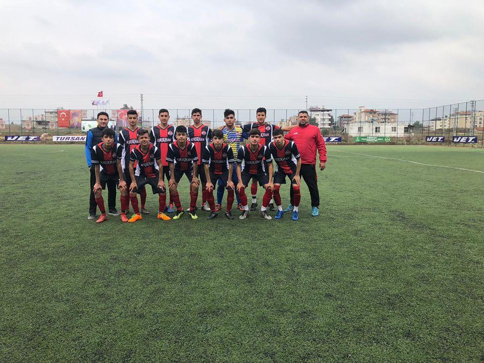 KIRIKHAN BELEDİYESPOR U17 FUTBOL TAKIMI ŞAMPİYONLUĞA EMİN ADIMLARLA İLERLİYOR