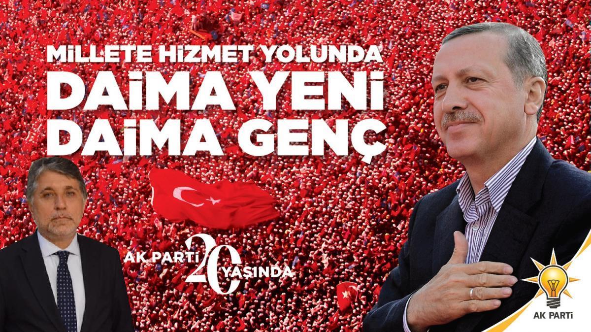"""BAŞKAN YAVUZ; """"AK PARTİ, KÖKÜ MAZİDE GÖZÜ ATİDE OLAN BİR DAVA HAREKETTİR.!"""""""
